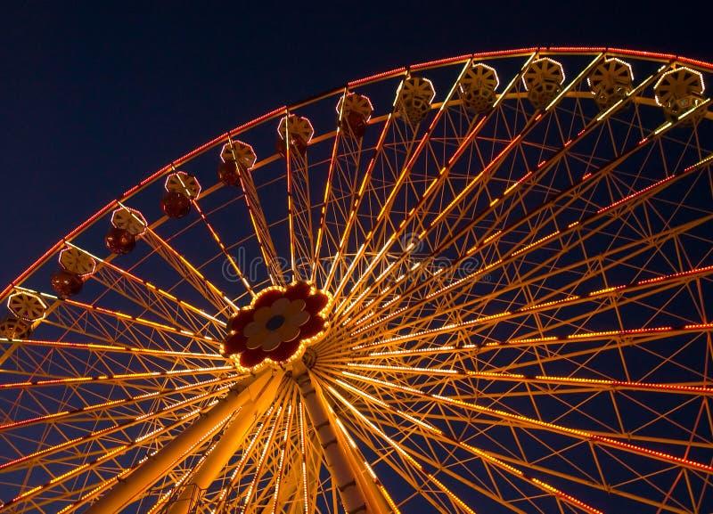 Parco di divertimenti Prater a Vienna fotografie stock