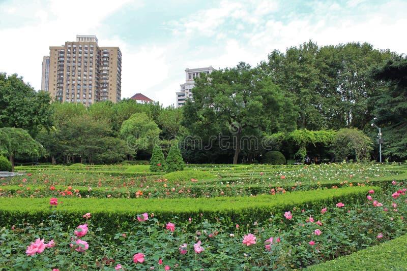 Parco di Fuxing, Shanghai fotografia stock libera da diritti