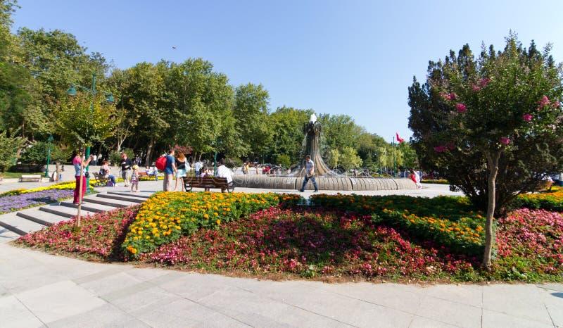 Parco di Gezi, Costantinopoli immagini stock libere da diritti