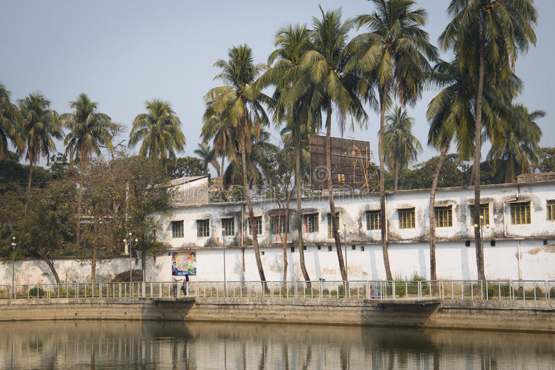 Parco di Hadis a Khulna, Bangladesh immagine stock