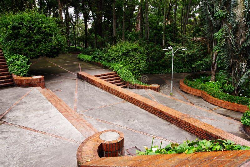 Parco di indipendenza a Bogota, Colombia fotografia stock libera da diritti