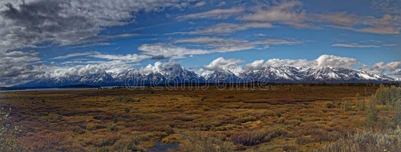 Parco di Jackson Lodge Grand Teton National immagini stock libere da diritti
