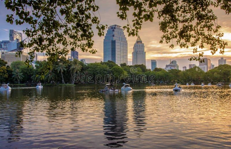 Parco di Lumpini immagine stock
