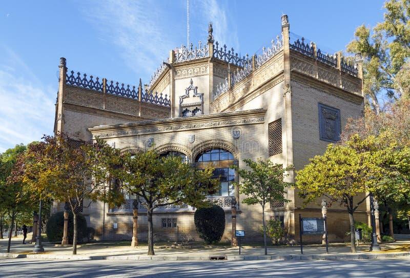 Parco di Maria Luisa in Siviglia, Spagna immagini stock
