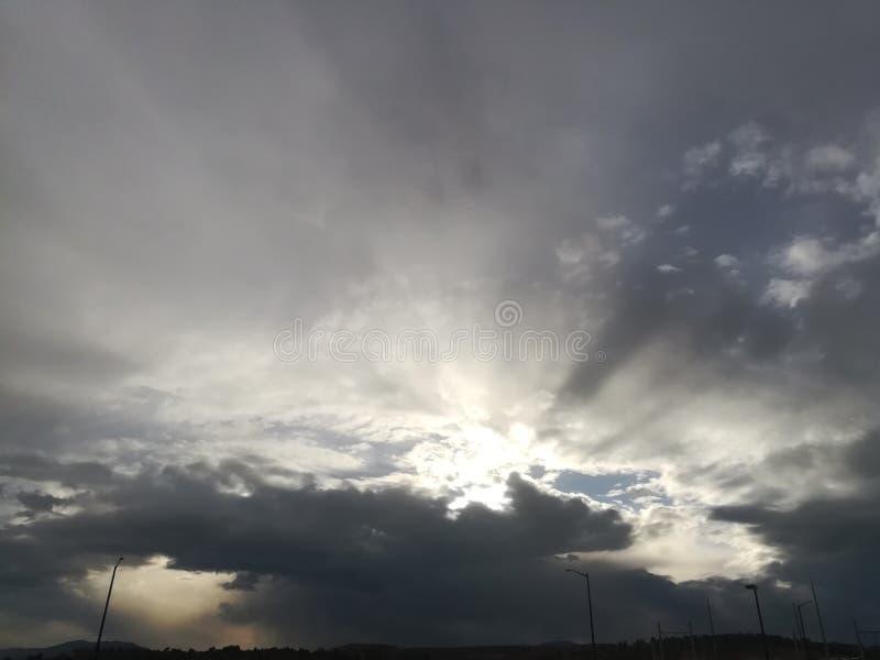 Parco di McAfee di tramonto fotografie stock libere da diritti