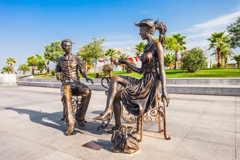 Parco di miracolo, Batumi fotografie stock libere da diritti