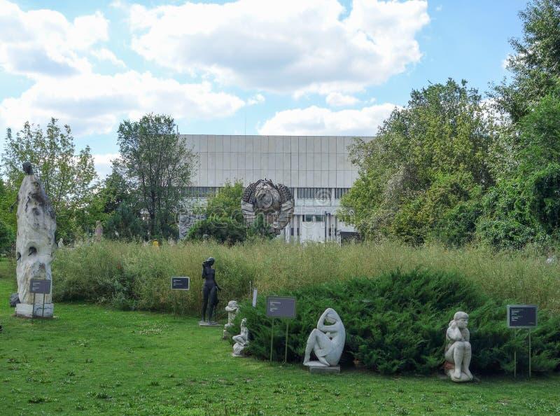 Parco di MUZEON delle arti a Mosca immagini stock