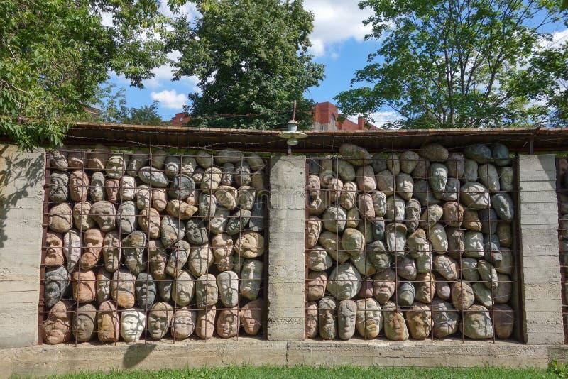 Parco di MUZEON delle arti a Mosca immagine stock libera da diritti