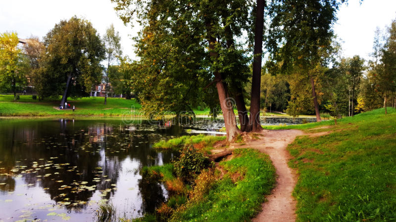 Parco di Orlovy-Denisovy fotografia stock libera da diritti