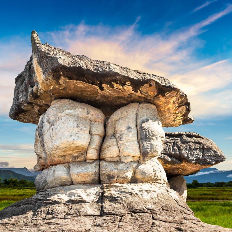 Parco di pietra naturale immagini stock libere da diritti