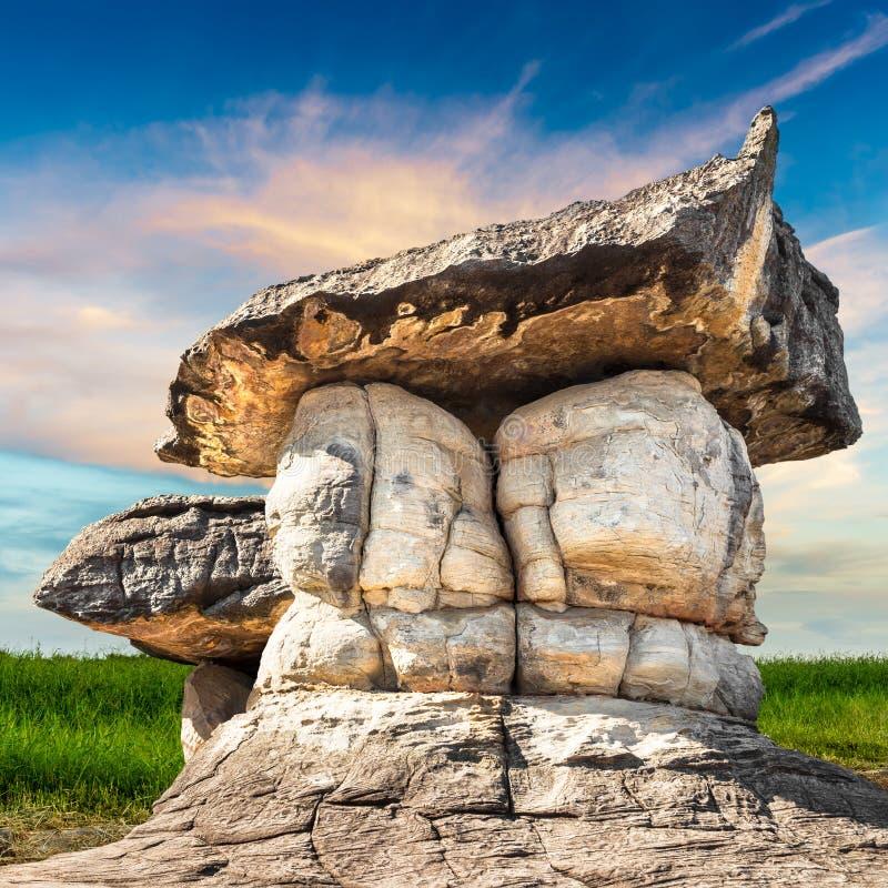 Parco di pietra naturale immagine stock