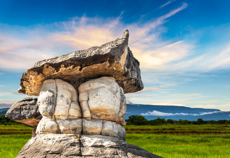 Parco di pietra naturale fotografie stock libere da diritti