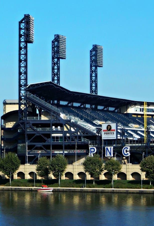 Parco di PNC, Pittsburgh fotografie stock libere da diritti