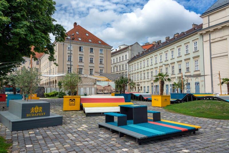 Parco di pop-up a Budapest, Ungheria immagini stock libere da diritti