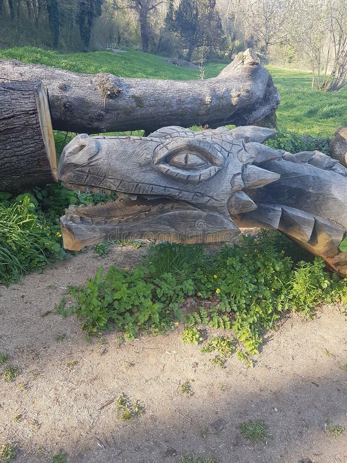 Parco di Porthkerry immagini stock libere da diritti