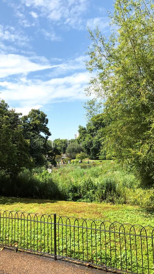 Parco di Regent's immagini stock libere da diritti