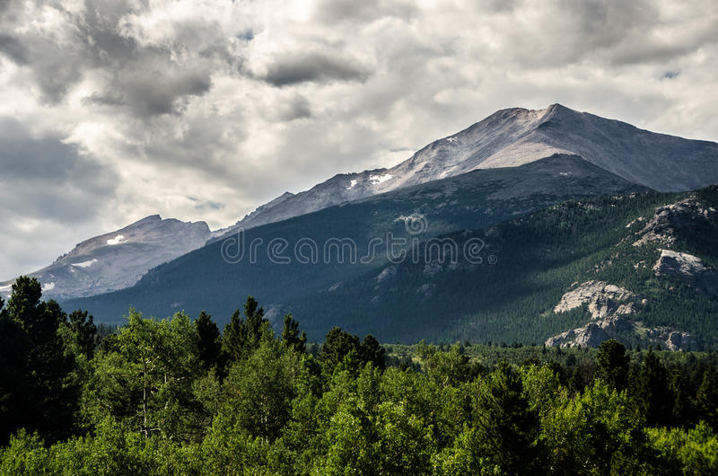 Parco di Rocky Mountain National Park Estes, Colorado fotografie stock