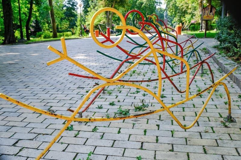 Parco di Shevchenko, paesaggio di estate immagine stock