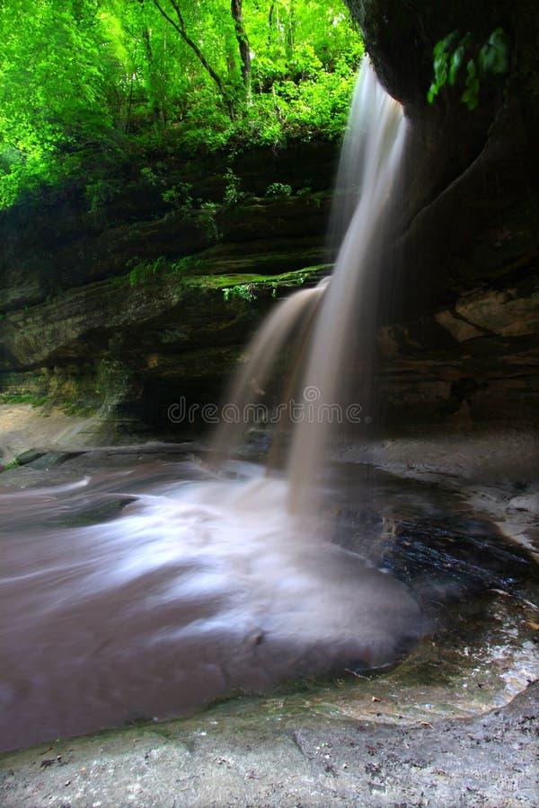 Parco di stato affamato della roccia Illinois fotografie stock libere da diritti