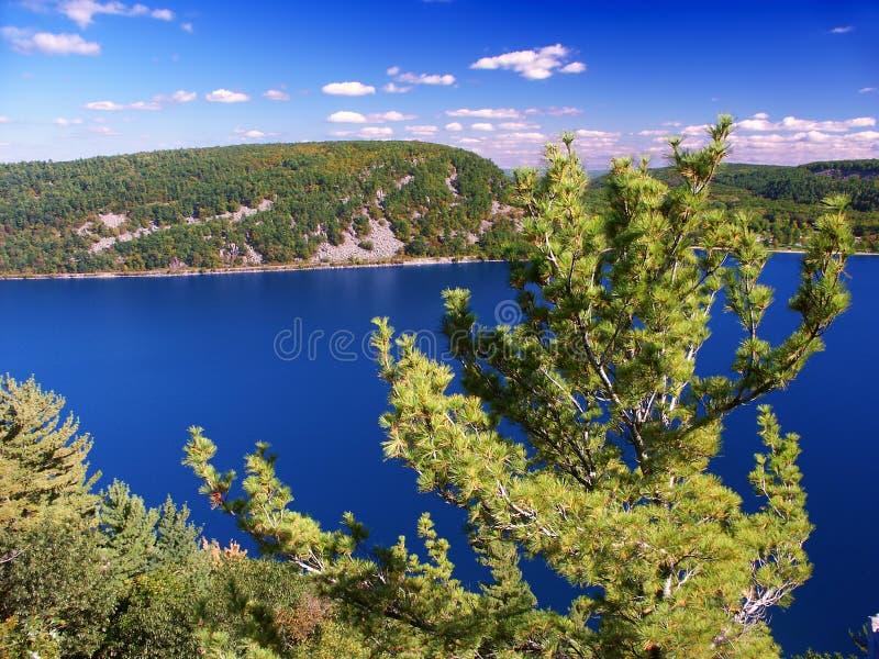 Parco di stato del lago devils Wisconsin fotografia stock