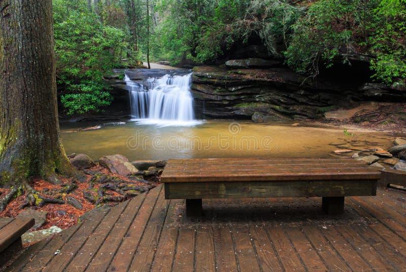 Parco di stato della roccia della Tabella Carolina del Sud immagini stock libere da diritti
