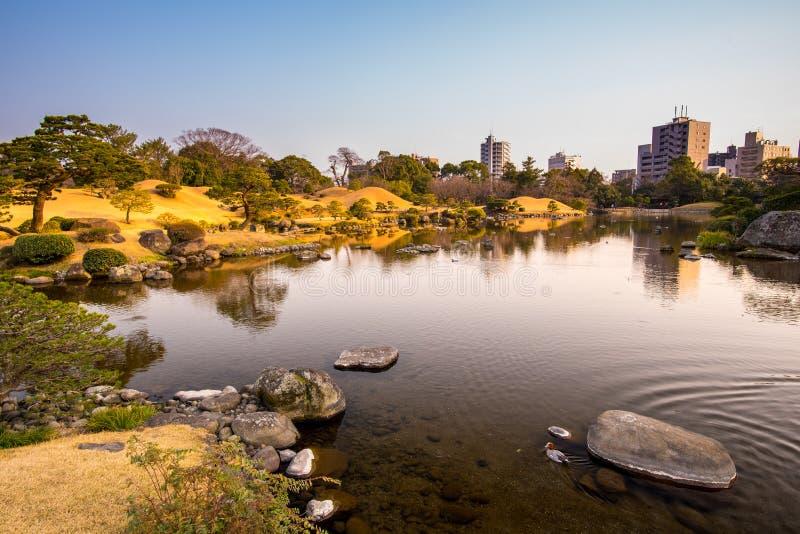 Parco di Suizenji immagine stock libera da diritti