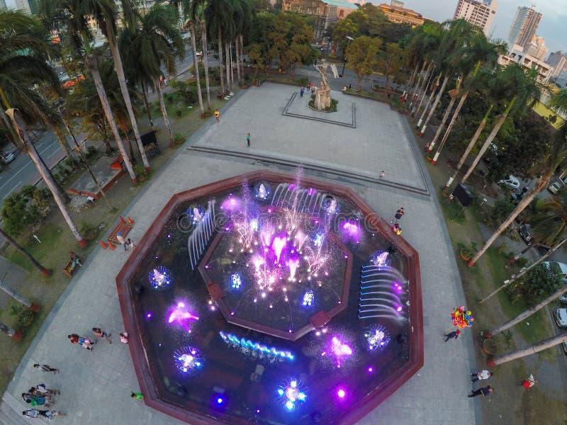 Parco di Sulayman di ragià a Manila fotografie stock libere da diritti