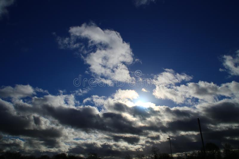 Parco di Sun fotografie stock