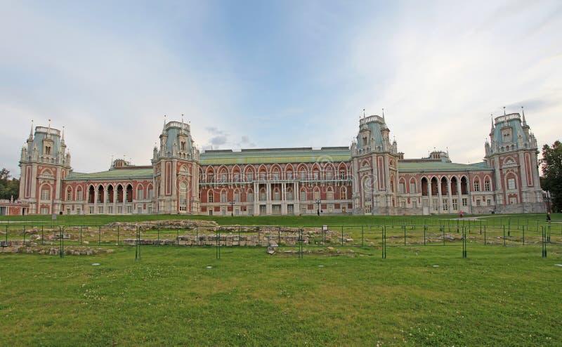 Parco di Tsaritsino, Mosca fotografie stock libere da diritti