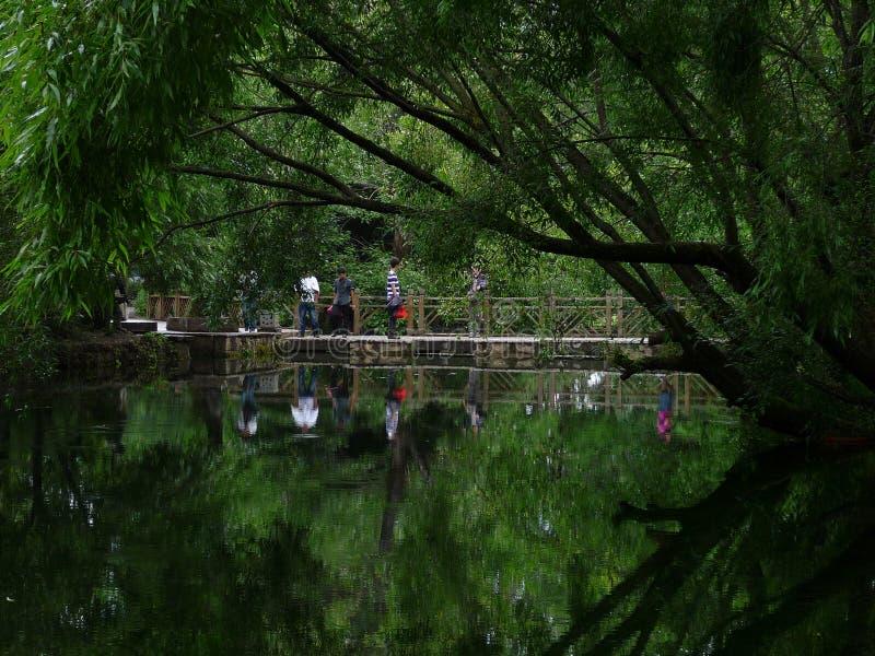 Parco di Yuquan fotografia stock