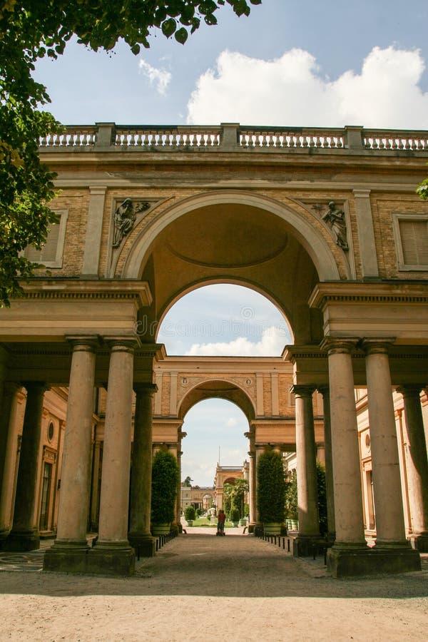 Parco e Orangerie di Sanssouci fotografia stock
