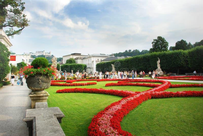 Parco floreale fotografie stock