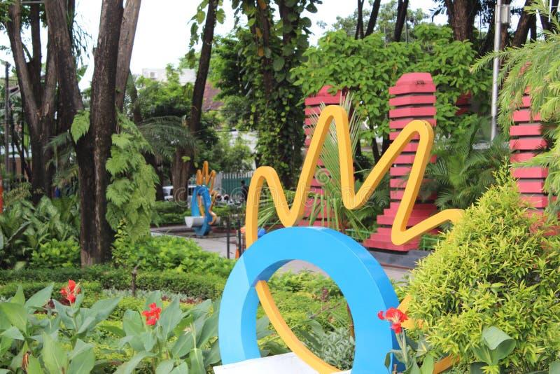 Parco Indonesia di Soerabaya immagine stock libera da diritti