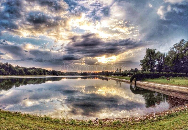 Parco Kuskovo fotografie stock