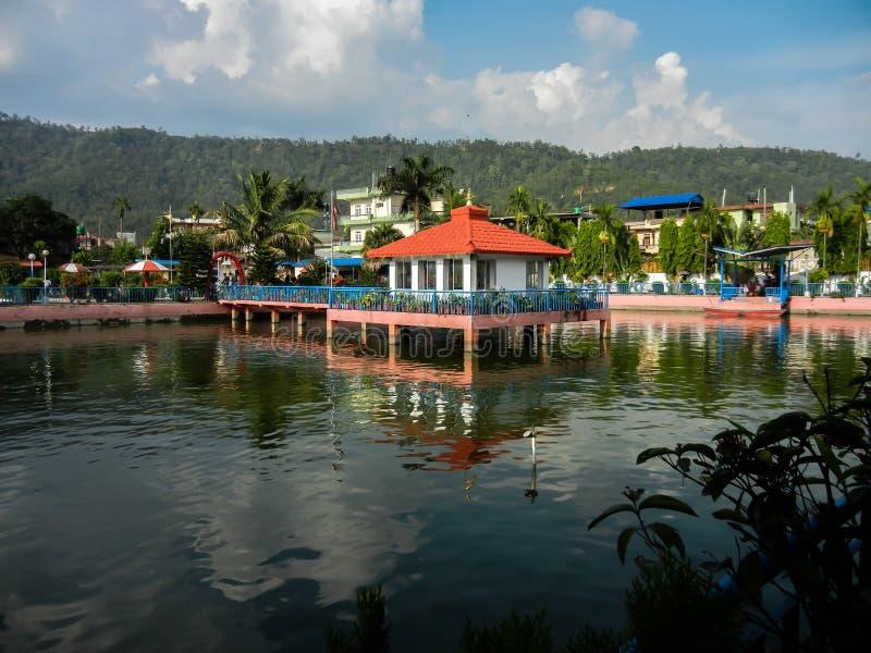 Parco lal di Puspa del hetauda Nepal immagini stock