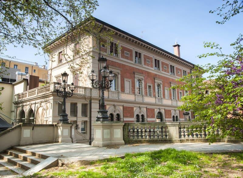 Parco Montagnola, Bologna immagine stock libera da diritti