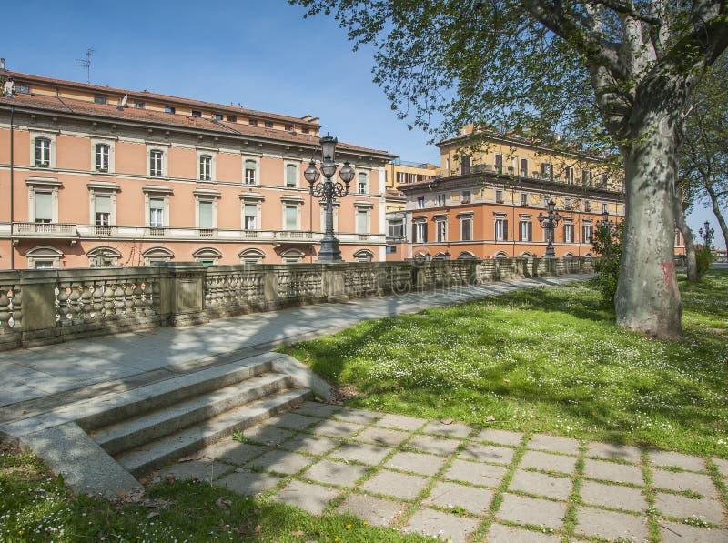 Parco Montagnola, Bologna fotografia stock libera da diritti
