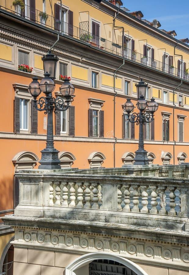 Parco Montagnola, Bologna fotografia stock