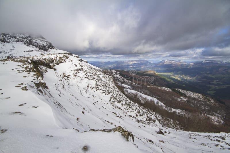 Parco naturale di Gorbeia fotografia stock libera da diritti