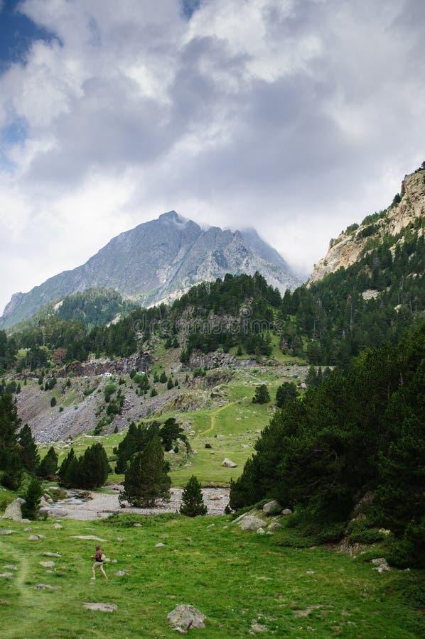 Parco naturale di Posets-Maladeta - valle di Benasque immagine stock libera da diritti
