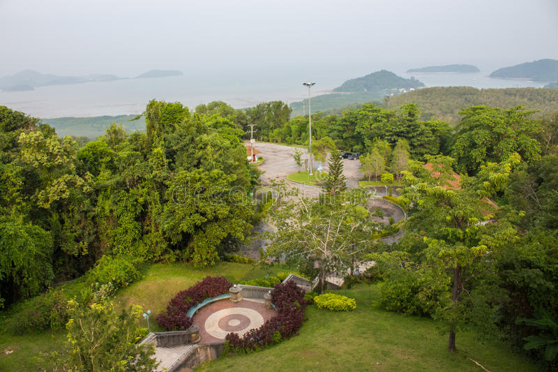 Parco naturale, Phuket, Tailandia fotografia stock