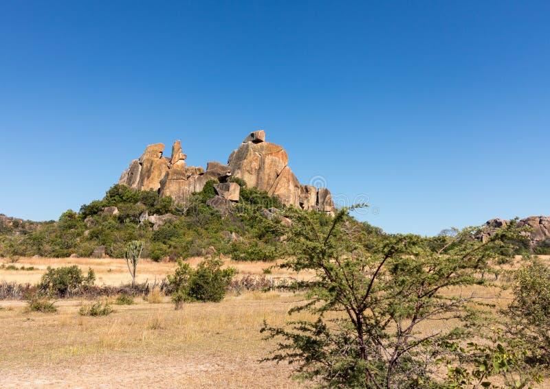 Parco nazionale Bulawao Zimbabwe di Matobo fotografia stock libera da diritti