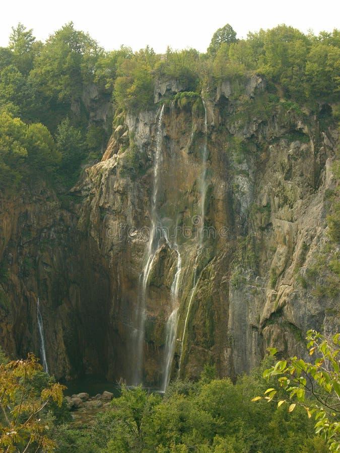 Parco nazionale Croazia dei laghi Plitvice fotografia stock