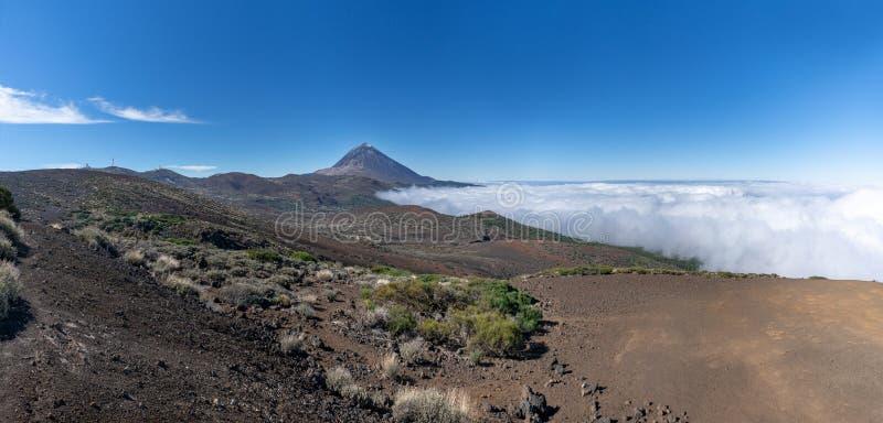 Parco nazionale del Teide sull'isola di Tenerife, Spagna fotografia stock