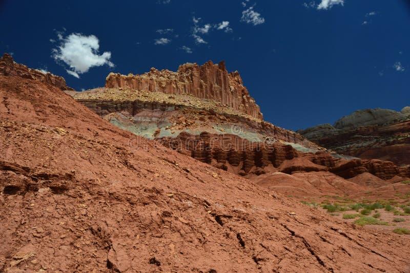 Parco nazionale della scogliera del Campidoglio immagini stock