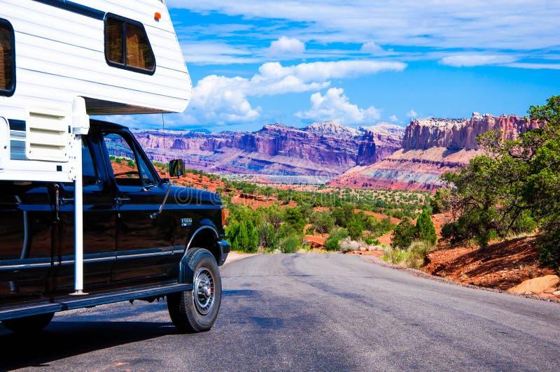 Parco nazionale della scogliera del Campidoglio, Utah, U.S.A. immagini stock