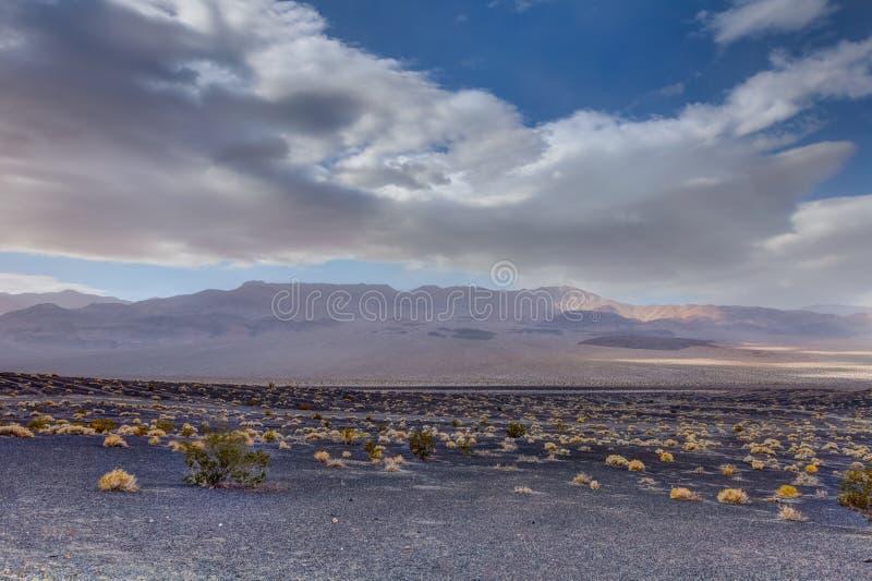 Parco nazionale della valle di CA-morte immagini stock libere da diritti