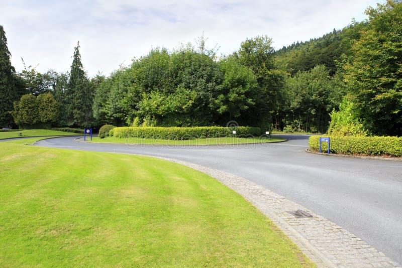 Parco nazionale delle montagne di Wicklow in Irlanda immagine stock libera da diritti