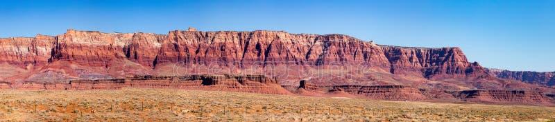 Parco nazionale delle scogliere del vermiglio in U.S.A. fotografie stock libere da diritti