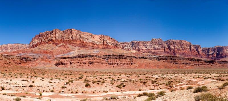 Parco nazionale delle scogliere del vermiglio in U.S.A. immagine stock libera da diritti
